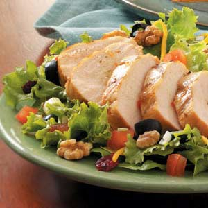 Grilled Chicken Salad for Two Recipe