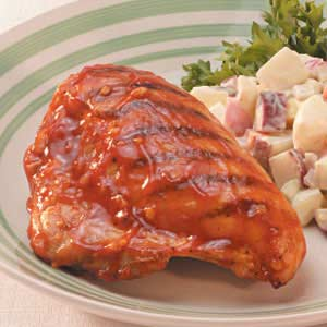 Down-Home Barbecued Chicken Recipe