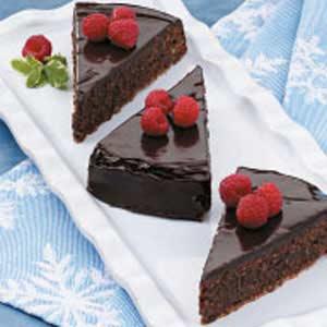 Fudgy Pecan Cake Recipe