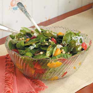 Spinach and Blue Cheese Salad Recipe