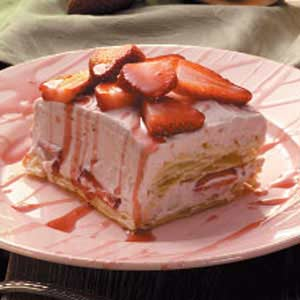 Strawberry Puff Pastry Dessert Recipe
