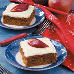 Grandma's Apple Carrot Cake Recipe