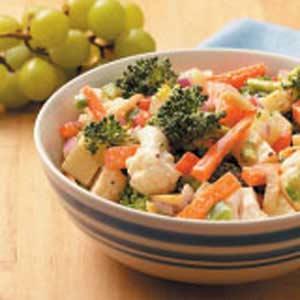 Spicy Crunchy Veggies Recipe