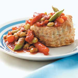 Vegetables in Puff Pastry Recipe