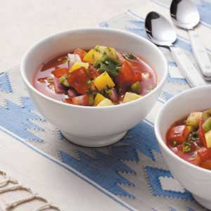 Healthy Gazpacho Recipe