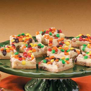 Candy-Topped Bars