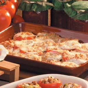 Tomato Eggplant Bake Recipe