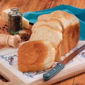 Pepper Asiago Loaf Recipe