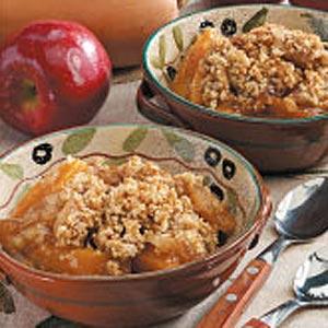 Butternut Squash Apple Crisp Recipe