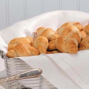 Herbed Biscuit Knots Recipe
