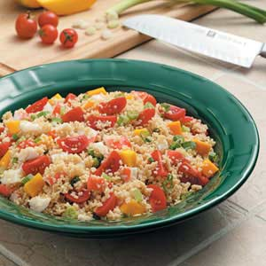 Crab Couscous Salad Recipe