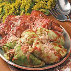 Ribs 'N' Stuffed Cabbage Recipe