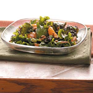 Almond-Orange Lettuce Salad Recipe