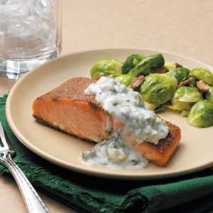Baked Spiced Salmon Recipe