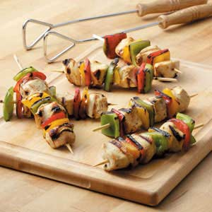 Honey-Citrus Chicken Kabobs Recipe