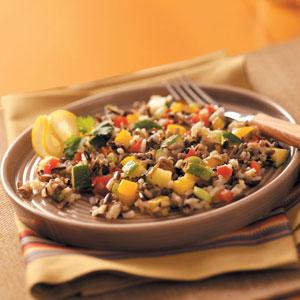 Sweet Pepper Wild Rice Salad Recipe