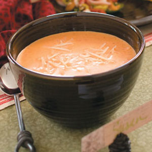 Roasted Red Pepper Bisque Recipe