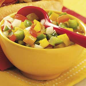 Pickled Pepper Relish Recipe