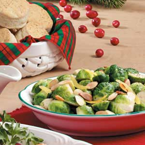 Fast Lemony Brussels Sprouts Recipe