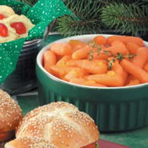 Peachy Carrots Recipe