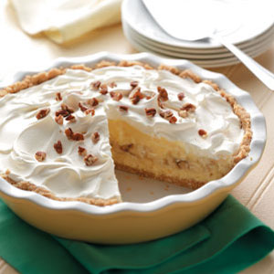 Banana Cheesecake Pie Recipe