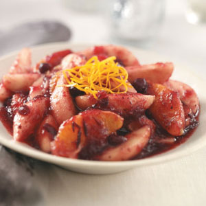 Cranberry Spiced Pears Recipe