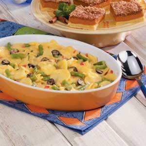 Green Bean Au Gratin Potato Bake Recipe