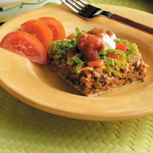 Hearty Taco Casserole Recipe