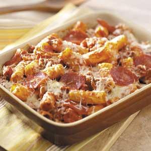 Meaty Rigatoni Bake Recipe