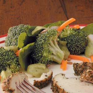 Spinach Broccoli Salad Recipe