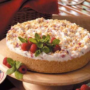 Fluffy Raspberry Torte Recipe
