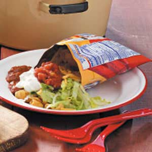 Campfire Taco Salad Recipe