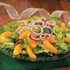 Orange 'n' Red Onion Salad Recipe