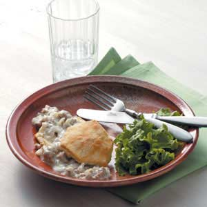 Sausage Gravy with Biscuits Recipe