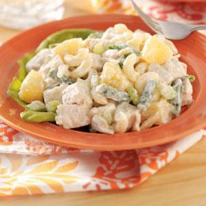 Hawaiian Chicken Macaroni Salad Recipe