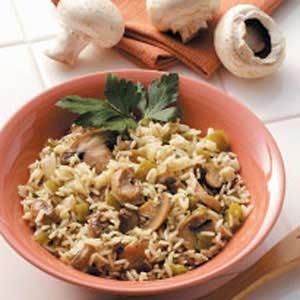 Rice with Mushrooms Recipe