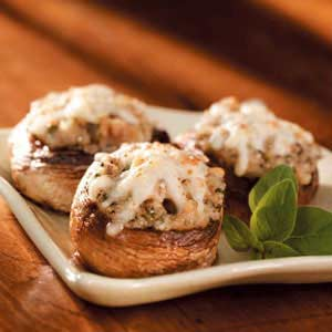 Clam-Stuffed Mushrooms Recipe