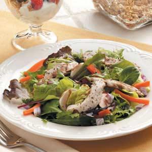Chicken Strip Salad Recipe