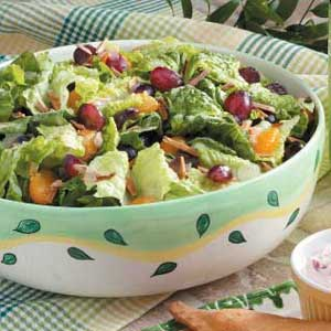 Fruit 'N' Nut Tossed Salad Recipe