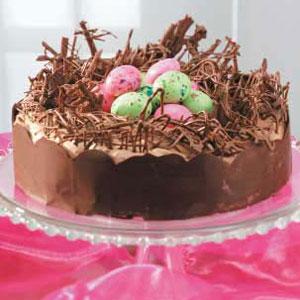 Easter Nest Torte Recipe