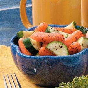Herbed Zucchini 'n' Carrots Recipe