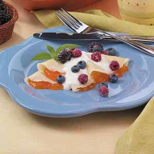 Crepes with Berries Recipe