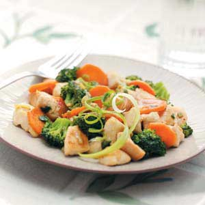 Curry Chicken and Vegetables Recipe