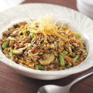 Brown and Wild Rice Medley Recipe