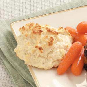 French Onion Drop Biscuits Recipe