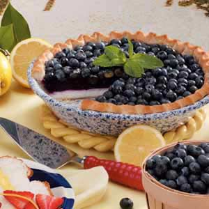 Double Blueberry Pie Recipe