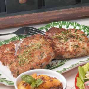 Thyme-Marinated Pork Chops Recipe