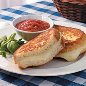 Fresh Mozzarella Sandwiches Recipe