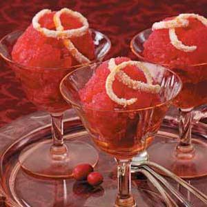 Tangerine Cranberry Sorbet Recipe