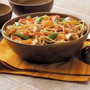 Asian Noodle Toss Recipe